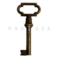 FURNITURE KEY BRONZE - 30MM 6x6