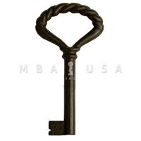 FURNITURE KEY BLACK- 40mm 8x8