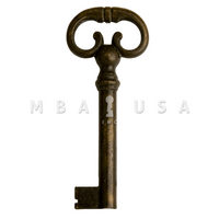 FURNITURE KEY ANTIQUE COPPER 40MM 8X8