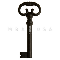 FURNITURE KEY BLACK 40MM 8X8