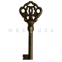 FURNITURE KEY BRONZE 40MM 8X8