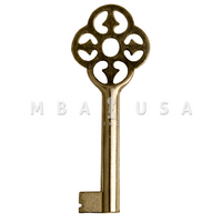 FURNITURE KEY NICKEL 40 MM 8X8
