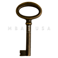 FURNITURE KEY BRONZE - 40MM 8X8