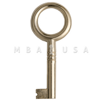 FURNITURE KEY BLANK 6 X 6 32MM
