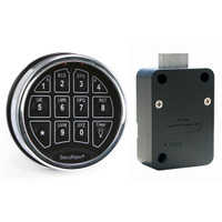 SAFELOGIC TOPLIT KEYPAD WITH DEADBOLT LOCK BODY