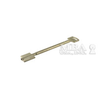 CAWI NICKEL SILVER DOUBLE BITTED KEY BLANK FOR 9, 11, 14 LEVER LOCKS 150MM