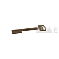 CAWI  NICKEL SILVER SINGLE BITTED KEY BLANK FOR 1839 LOCK 95MM