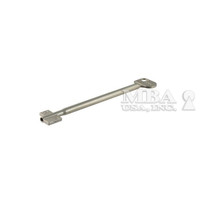 CAWI DIE CAST DOUBLE BITTED KEY BLANK FOR 8-LEVER LOCK 120MM