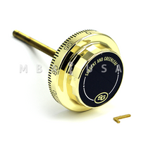 S&G DIAL - D220, SPY PROOF, BRIGHT BRASS