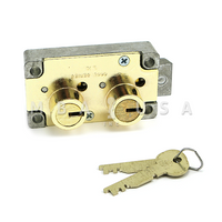S&G 4443 SAFE DEPOSIT LOCK - LEFT HAND, #4 GUARD