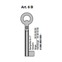 BORKEY KEY BLANK ART 6B/50