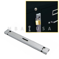 FILE BAR - 1 DRAWER CHROME