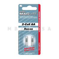 MINI MAG-LITE REPLACEMENT LAMPS - SET OF 2