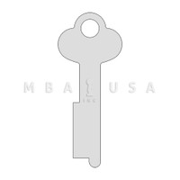 1028 Diebold & Bluegrass 175 Series Renter Key Blank Sold in Pack of 10