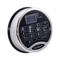 (I) ProLogic L62 Keypad, Battery Drawer, Satin Chrome