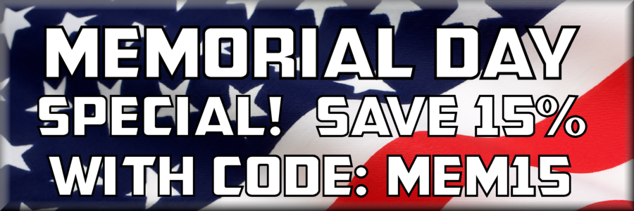 Use Code MEM15 to get 15% off During Checkout!