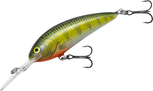 Bagley balsa shad 3 8oz yellow perch vimage outdoors for Yellow perch fishing rigs