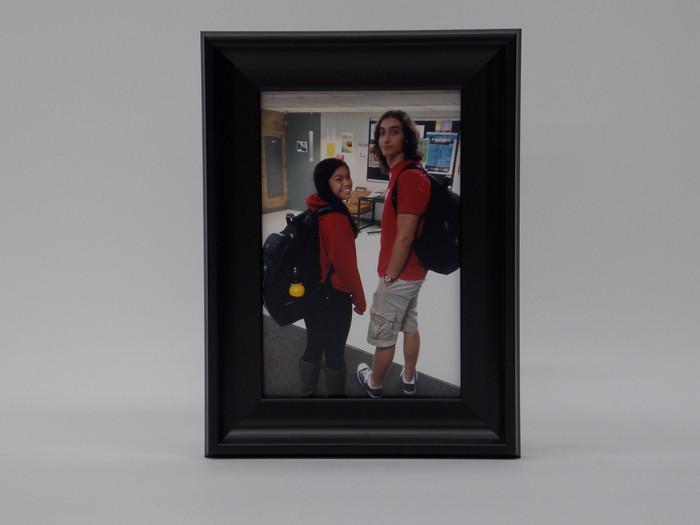 8x10 Yosemite Black Scoop Tabletop Frame