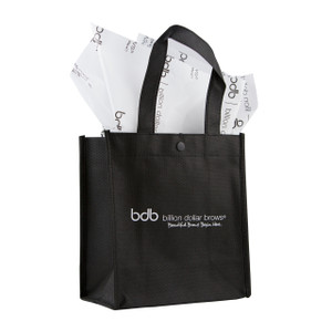 BDB Reusable Woven Black Bag (Pkg of 25)