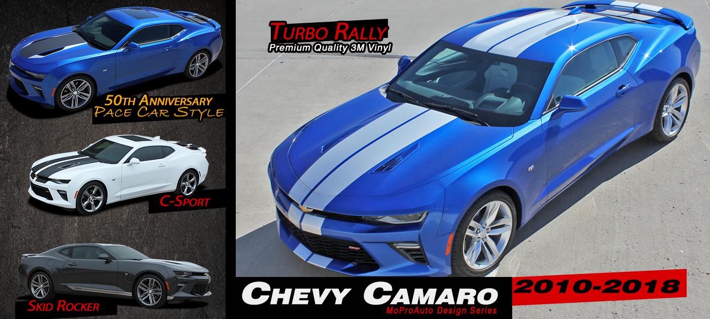 Chevy Camaro Stripes Decals Vinyl Graphics