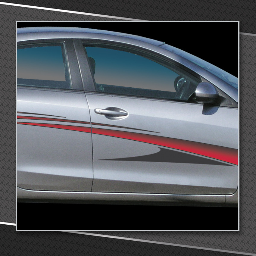 Zenith Automotive Vinyl Graphics Shown On Chevy