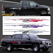 WICKED : Automotive Vinyl Graphics Shown on Dodge Ram (M-08492)