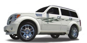 TIGER CLAW : Automotive Vinyl Graphics and Decals Kit - Shown on DODGE NITRO (M-1217)