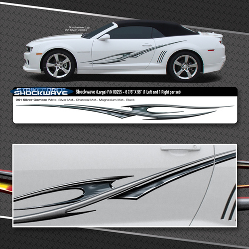 Shockwave Automotive Vinyl Graphics Shown On Chevy