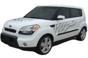 """SOUL CAT : """"Factory Style"""" Vinyl Graphics Kit for 2010 2011 2012 2013 Kia Soul - """"Factory Style"""" Vinyl Graphics Kit, specially engineered to fit the 2010 - 2013 KIA Soul! Factory look without the factory price, with the same quality vinyl!"""