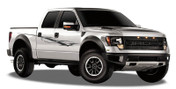 SAVAGE : Automotive Vinyl Graphics and Decals Kit - Shown on FORD RAPTOR SERIES (M-907908)