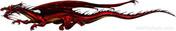 SAMURAI DRAGON : High Definition Automotive Vinyl Graphics (M-SMD70MD)