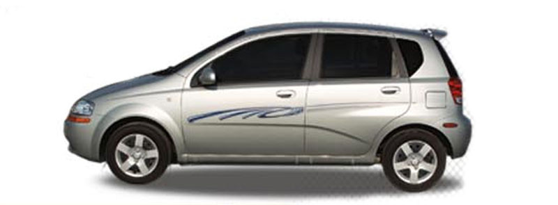 PIPELINE Automotive Vinyl Graphics And Decals Kit Shown On - Vinyl graphics for a car