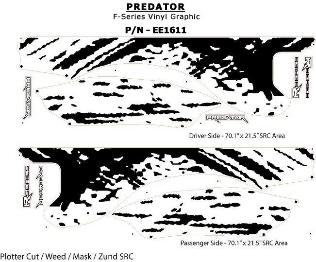 PREDATOR : 2009 2010 2011 2012 2013 2014 Ford F-Series