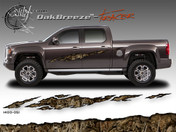 Oak Breeze Wild Wood Camouflage : TRACER Body Side Vinyl Graphic 9 inches x 96 inches