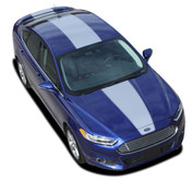 OVERVIEW : 2013 2014 2015 2016 2017 Ford Fusion Vinyl Graphics Decals Stripe Kit! Professionally Designed Vinyl Graphics Stripes Decals Kit for the Ford Fusion! Easy to Install with 100's of colors to choose from . . .