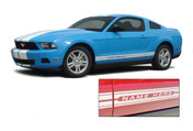 * NEW 2010-2014 Ford Mustang Rocker Panel Stripes Kit! Give a modern muscle car look to your new Mustang that will set your ride apart! Professional Style 3M Vinyl Graphics Kit - Pre-Cut and Designed, Ready to Install! For Automotive Restylers and Dealers! Works perfectly with our other Mustang STAMPEDE Kits . . .