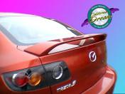 Mazda - 3 2004-2009 OEM Factory Style Spoiler