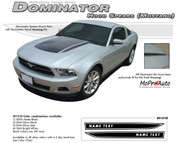 "Mustang DOMINATOR (Mustang Hood Spears Only) : 2010-2012 Ford Mustang Graphics Kit - Vinyl Graphics Kits for the 2010-2012 Ford Mustang! Give a modern muscle car look to your new Mustang that will set your ride apart! Left and Right ""Mustang"" Hood Spears Included!"