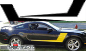 Ford Mustang : Solid Hockey Stripes fits 2010-2012 (SVS212M)