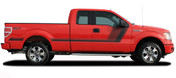 "Ford F-150 Hockey Stick ""Tremor FX Appearance Package Style"" Side Vinyl Graphics and Decals Kit! Ready to install for your F-150 Ford Truck for 2009 2010 2011 2012 2013 2014 Models. Professional ""OEM Style"" and Design! For Automotive Restylers and Dealers!"