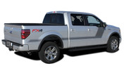 "2009-2014 Ford F-150 ""Appearance Package Style"" Hockey Stick Side Vinyl Graphics and Decals Kit! Ready to install for your F-150 Ford Truck for 2009 2010 2011 2012 2013 2014 and 2015 2016 2017 Models. Professional ""OEM Style"" and Design! For Automotive Restylers and Dealers!"