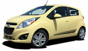 FLASH : Chevy Spark 2013 2014 2015 2016 Vinyl Graphics Stripe Decal Kit - Chevy Spark Vinyl Graphics Stripe Decals Package for the 2013-2015 Models! A fantastic upgrade option for your vehicle, using only Premium 3M, Avery, or Ritrama Vinyl!