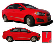 FLARE : Chevy Sonic 2012 2013 2014 2015 2016 Vinyl Graphics and Decals - Chevy Sonic Vinyl Decals Package for the 2012-2016 Models! A fantastic upgrade option for your vehicle, using only Premium Cast 3M, Avery, or Ritrama Vinyl!