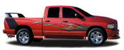 DEUCE : Automotive Vinyl Graphics and Decals Kit - Shown on DODGE RAM 1500 (M-1398)