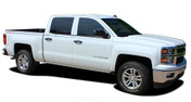 ELITE : 2014-2018 Chevy Silverado or GMC Sierra Upper Body Pin Striping Vinyl Graphic Decal Stripe Kit (M-PDS-2366)
