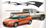 CHROME WEAVER : Automotive Flames Graphics (M-1411)