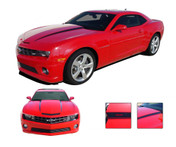 Camaro HOOD SPEARS : 2010 2011 2012 2013 Chevy Camaro Hood Spears Decal Set