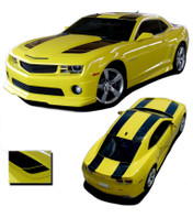 "Camaro BUMBLE BEE 2 : 2010 2011 2012 2013 Chevy Camaro Racing Stripes Kit  * NEW * 2010-2013 Chevy Camaro BUMBLE BEE 2 ""Transformers"" Style Racing Stripe Kit! Engineered specifically for the new Camaro, this kit will give you a factory OEM upgrade look at a discount price! Pre-Cut pieces ready to install!"