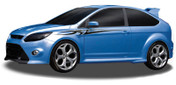 AXIS : Automotive Vinyl Graphics and Decals Kit - Shown on FORD FOCUS Revolutionary Automotive Vinyl Graphics Packages by Illusions/GFX! Many colors, sizes and styles to choose from for cars, trucks, boats, trailers and more. Shown here on a Ford Focus . . .