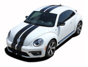 BEETLE RALLY : Complete Bumper to Bumper Racing Stripes Vinyl Graphics Kit for 2012-2018 Volkswagen Beetle - Complete Bumper to Bumper Racing Stripes Vinyl Graphics Kit, specially engineered for the Volkswagen Beetle, Turbo and non-Turbo Models! Fantastic rally application that will set your Beetle apart from the rest!